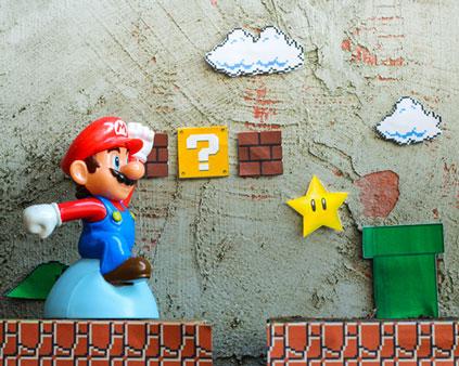 Super Mario Bros Google Game 2021