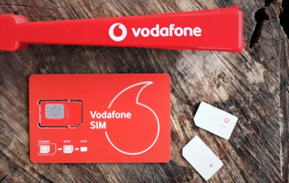 Internet Data and unlimited calls by Vodafone basics SIM-only