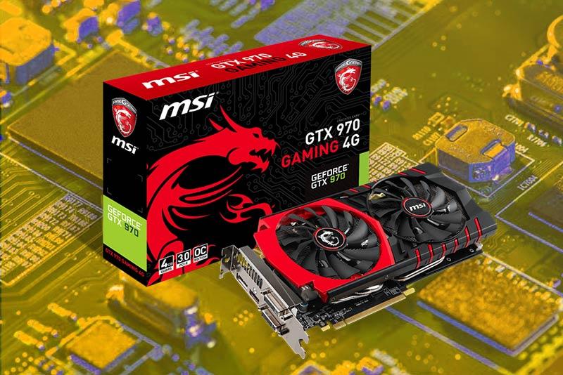 MSI 970 Gaming GTX 4g Graphics Card 2021