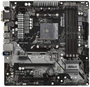 5. ASRock B450M PRO4 AM4 AMD