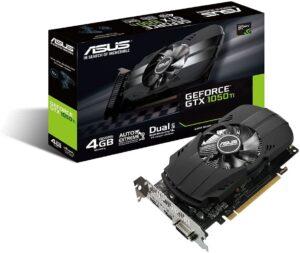 4. ASUS GeForce GTX 1050 Ti 4GB