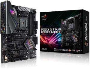 1. ASUS ROG Strix B450-F ( Gaming Motherboard )