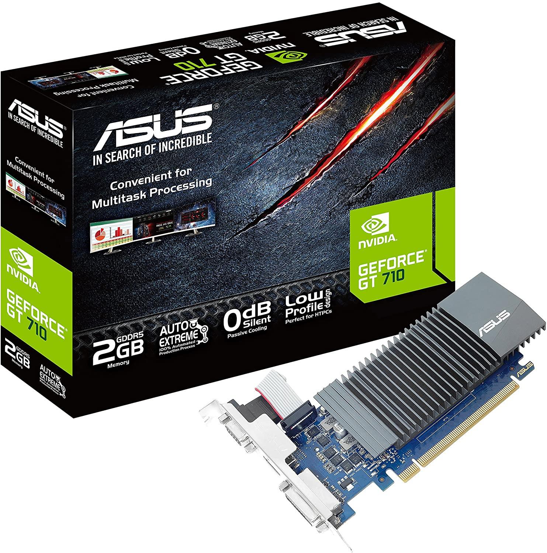 3. Asus GeForce GT 710 ( GDDR5 Graphics Card )