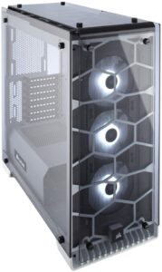3. Corsair CRYSTAL 570X ( Tempered Glass Case )