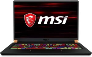 "5. MSI GS75 Stealth: 17.3"""