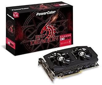 5. PowerColor AMD Radeon RED DRAGON