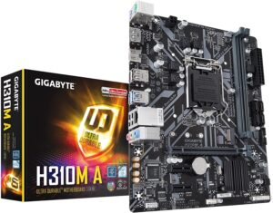 10. GIGABYTE H310M A ( Cheap Motherboard For Gaming )