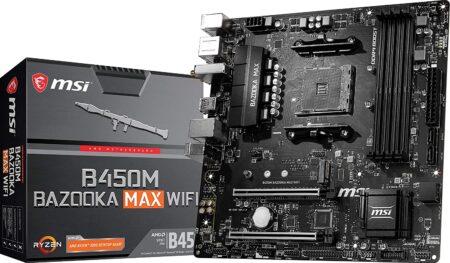 2. MSI B450M ( Wi-Fi Motherboard )