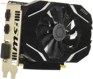 3. MSI GTX 1050 Ti ( Gaming Graphic Card )